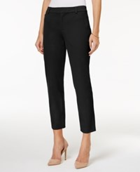 Charter Club Petite Cropped Pants Only At Macy's Deep Black