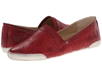 Frye Melanie Slip On Burnt Red Antique Soft Vintage Women's Slip On Shoes Tan
