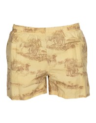 Jantzen Swim Trunks Light Yellow