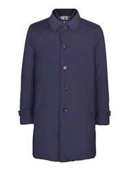 Aquascutum London Men's Harding Raincoat Navy