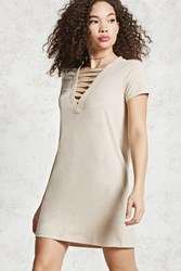 Forever 21 Caged Front T Shirt Dress