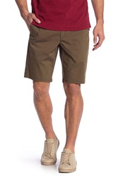 Rag And Bone Flyweight Solid Chino Shorts Mltry