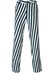 Blue Blue Japan Striped Trousers