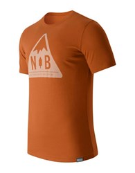 New Balance Mountain Patch Tee Orange