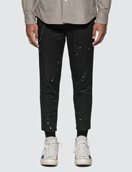 Uniform Experiment Carrot Fit Dripping Chino Pants Black