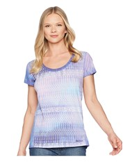 Marmot Logan Short Sleeve Deep Dusk Blur Clothing Purple
