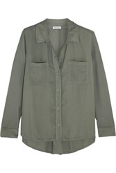 Splendid Voile Shirt Army Green