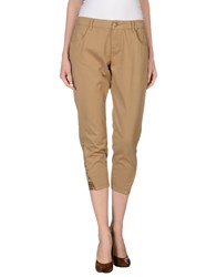 Toy G. Trousers 3 4 Length Trousers Women Sand