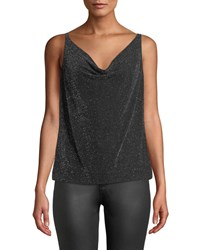 Bailey 44 Stellular Sparkle Jersey Top Black
