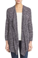 Women's Joie 'Nare' Marled Drape Front Cardigan