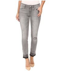 Mavi Jeans Adriana Ankle In Grey Destructed Vintage Grey Destructed Vintage Women's Blue
