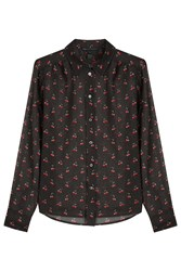Marc By Marc Jacobs Printed Cotton Blouse Multicolor
