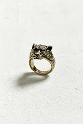 Urban Outfitters Panther Ring Gold