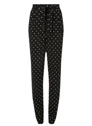Dorothy Perkins Tall Black Spotted Joggers