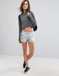 Seafolly Silver Sports Short Sliver