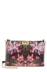 Ted Baker London Lost Gardens Leather Crossbody Bag
