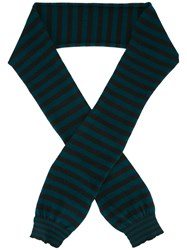 Nuur Striped Scarf Green