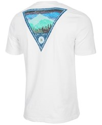 G.H. Bass And Co. Explorer Graphic Print T Shirt White