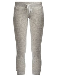 Pepper And Mayne Signature Capri Sweatpants Grey