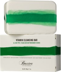 Baxter Of California Vitamin Cleansing Bar Italian Lime Pomegranate Colorless