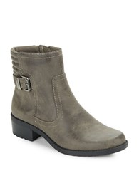 Anne Klein Lanette Ankle Boots Taupe