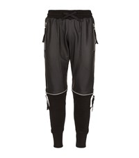 Blood Brother Zipped Knee Joggers Male Black