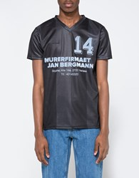 Han Kjobenhavn Poly Football Shirt Black