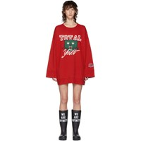 Undercover Red 'Total Youth' Sweatshirt