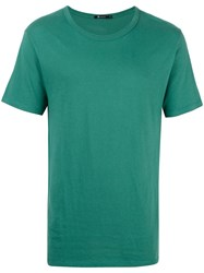 Alexander Wang T By Round Neck T Shirt Green