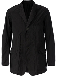 The Viridi Anne Three Button Jacket Black