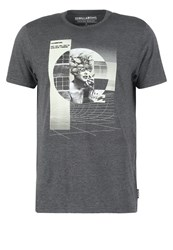Billabong Broadcast Tailored Fit Print Tshirt Black