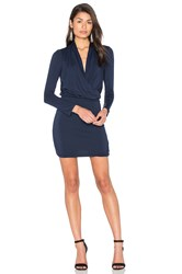 Amour Vert Malvina Dress Navy