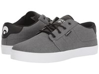 Osiris Mesa Charcoal White Black Men's Skate Shoes Gray