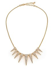 Abs By Allen Schwartz Gold Coast Spike Necklace
