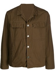 08Sircus Classic Buttoned Jacket Brown