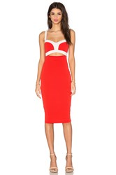 Nookie Tiana Bustier Dress Red