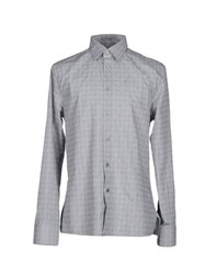 Dirk Bikkembergs Sport Couture Shirts Shirts Men Light Grey