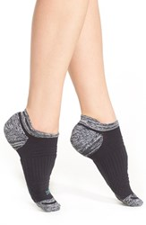 Women's Zella Tab Back Running Socks Grey Graphite