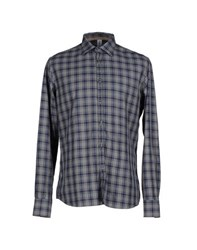 Etichetta 35 Shirts Shirts Men Grey