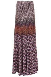 Missoni Lurex Wave Long Skirt