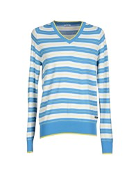 Gaudi' Knitwear Jumpers Men Azure