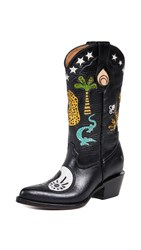 Brother Vellies Doodle Boots Yin Yang