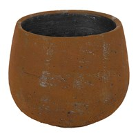 Amara Rusty Rock Flower Pot