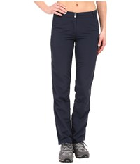 Jack Wolfskin Kalahari Pants Night Blue Women's Casual Pants Navy