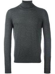 Paul Smith Turtleneck Jumper Green