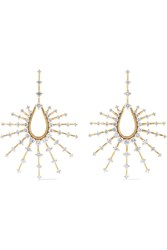 Fernando Jorge Clarity Small 18 Karat Gold Diamond Earrings One Size