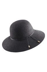 Helen Kaminski Wool Hat Black Knight Melange Black