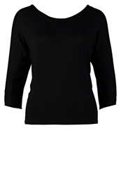 Morgan Long Sleeved Top Noir Black