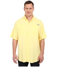 Columbia Big Tall Tamiami Ii S S Sunlit Men's Short Sleeve Button Up Yellow