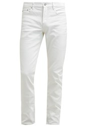 Michael Kors Slim Fit Jeans Coated White
